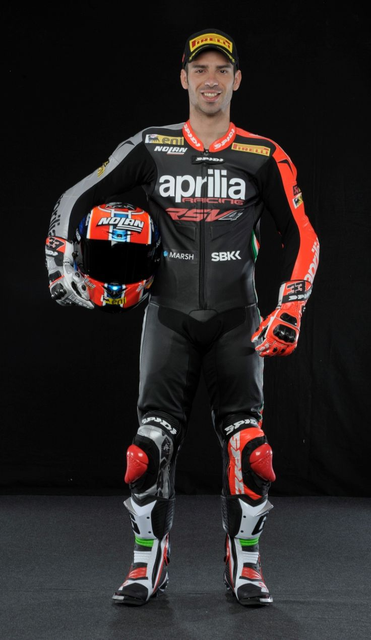 Melandri, Australian WSBK test and race, 2014