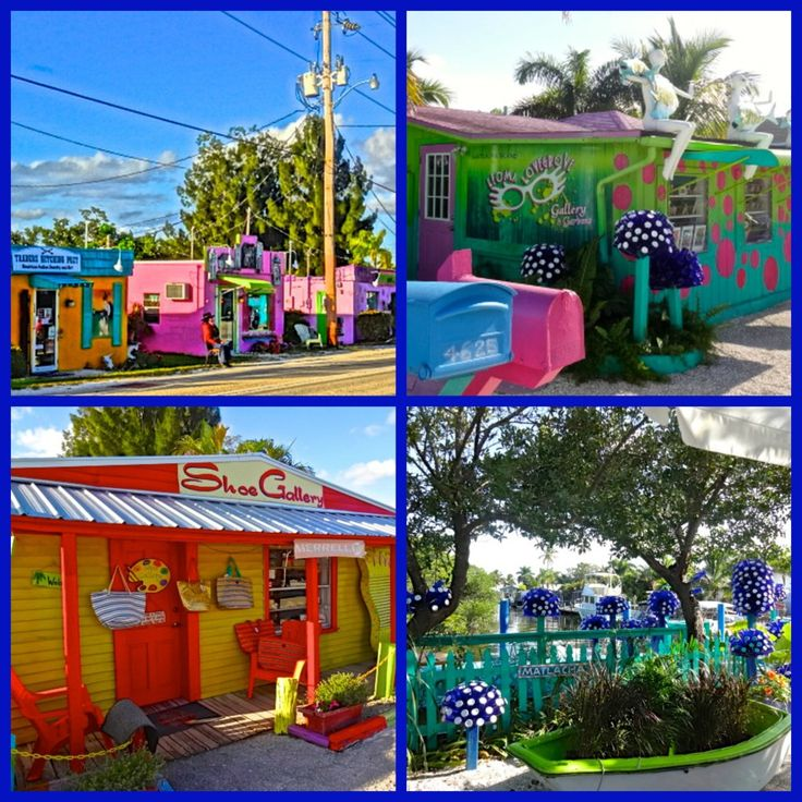 Colorful Matlacha Florida - A Tiny Artist Enclave on Pine Island! #LoveFL #Sanibel