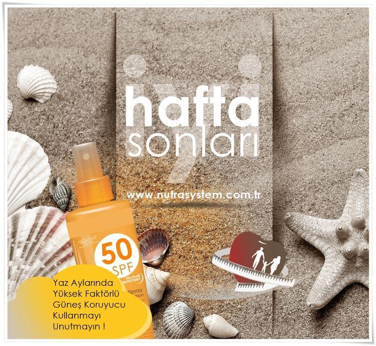 İYİ HAFTA SONLARI http://www.nutrasystem.com.tr/