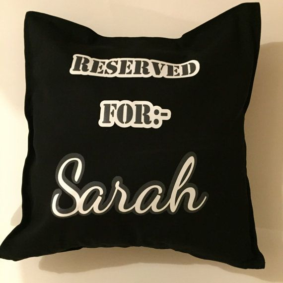 Personalised Custom Cushion/Pillow  free shipping by weheartcards