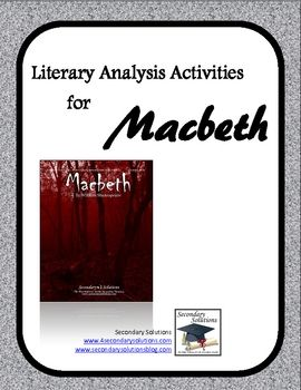 a literary analysis of irony in macbeth by william shakespeare Get an answer for 'what irony is revealed in the play macbeth' and find homework help for other irony in macbeth macbeth quiz william shakespeare.