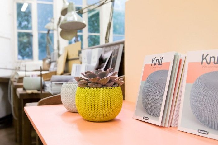 The KNIT by Curver collection celebrates functional, colourful deep-texture design