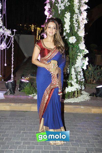 Gauri Khan at Riddhi Malhotra's sangeet ceremony at Hotel JW Marriott in Mumbai