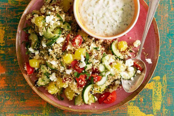 Quinoasalade met frisse groenten - Recept - Allerhande