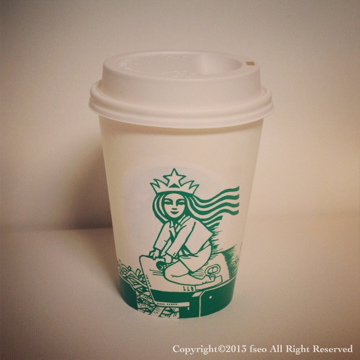 Starbucks Cup Art : Taste of a Credit Card Copyright©2013 fseo All Right Reserved