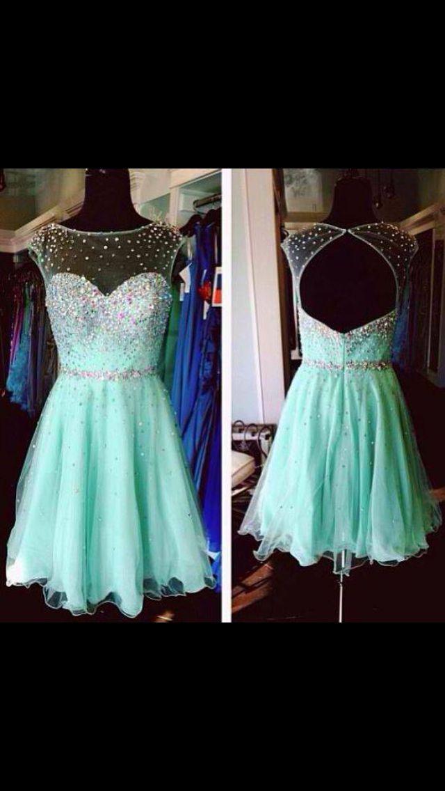 Beautiful Teal Dress Fashion Pinterest Beautiful
