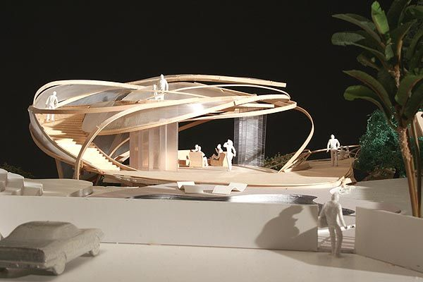 Les 73 meilleures images du tableau architecture model for Architecture organique exemple