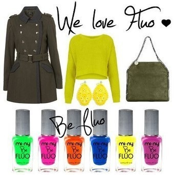 WE LOVE FLUO ♥    Find your color: http://www.minycosmetics.com/colori.php?idcategoria=61 #beauty #colors #cool #fashion #girl #girl #glam #life #look #love #moda #style #stile #model #nail #nailart #nailpolish #nails #glitter #nail #outfit #shopping #trendy #fluo #yellow #stud #studs