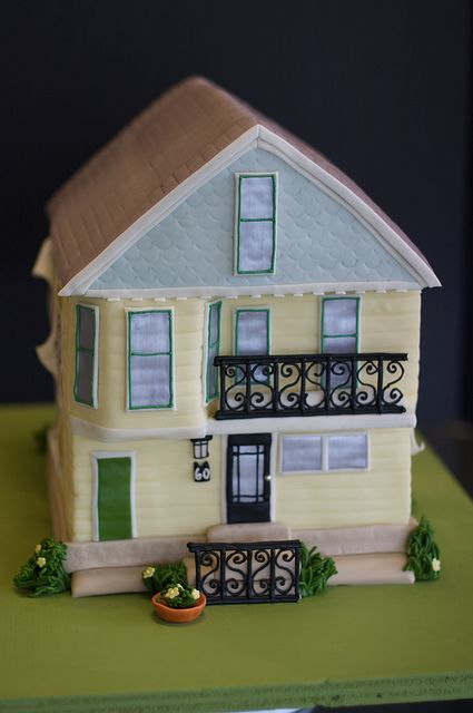 house cake by studiocake, via Flickr