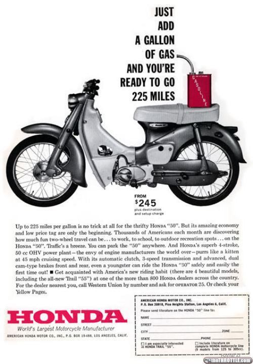 The Honda Super Cub is the bestselling motor vehicle in history?