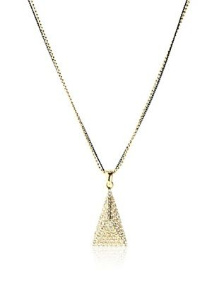 71% OFF Chloe & Theodora Two-Tone Pyramid Necklace