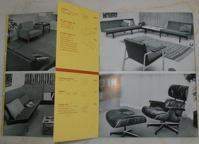 Vintage HERMAN MILLER brochure 239