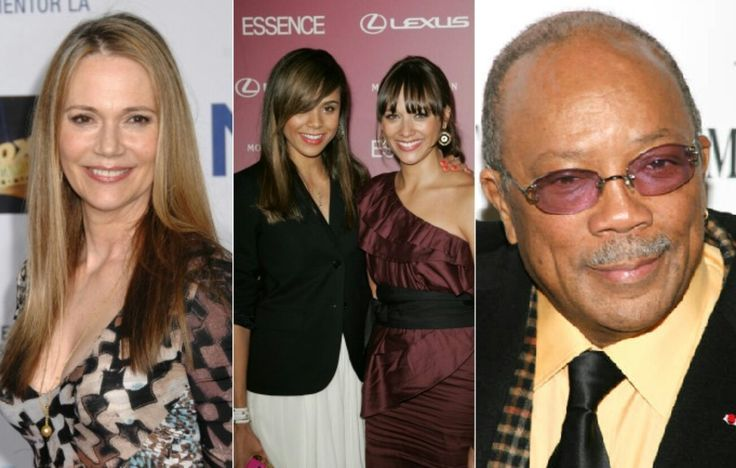Peggy Lipton and Quincy Jones daughters
