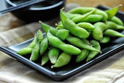 Edamame is the perfect little pick-me-up snack, tucked away in their fuzzy little pods and sprinkled with salt.