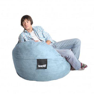 Bean Bag Chair Color Baby Blue Size Medium