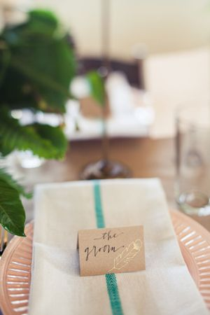 Texas Wedding with a Pink Wedding Gown « Southern Weddings Magazine