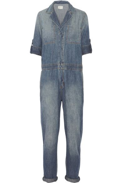 Current/Elliott The Mechanic denim jumpsuit