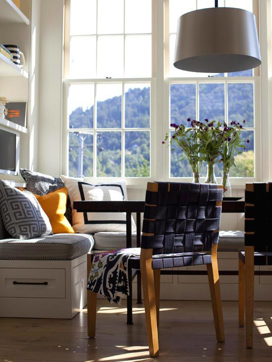 157 Best Images About Dining Room Banquette On Pinterest