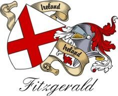 fitzgerald family crests and shields | Fitzgerald Irish Clan / Sept Crest | Heraldic Shields to order online!