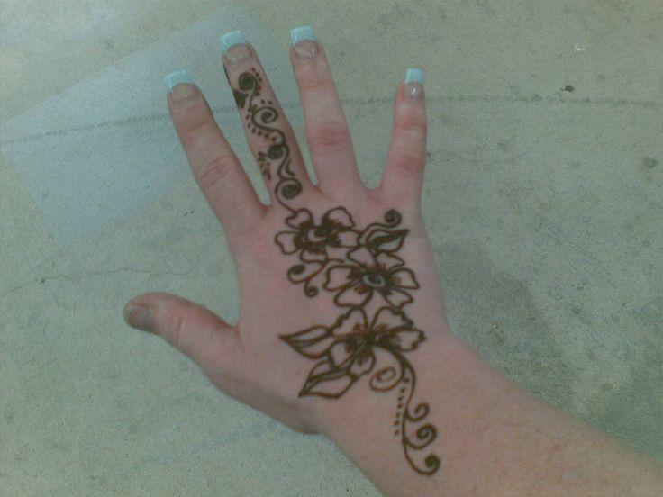 Sunflower Henna Tattoo: My Sunflower Henna Tattoo