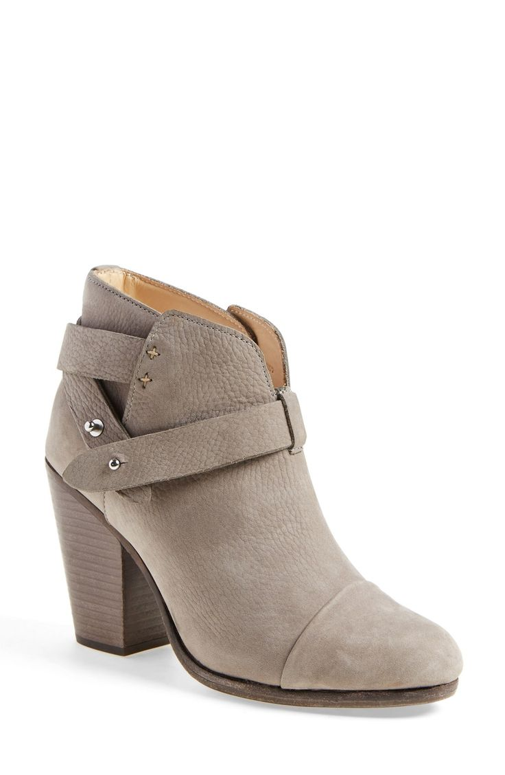 Simply structured, yet the details are statement worthy! Obsessed with these rag & bone 'Harrow' Boots.