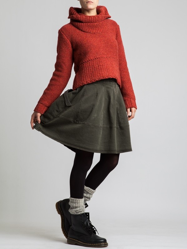Regenerated Wool Sweater by LURDES BERGADA