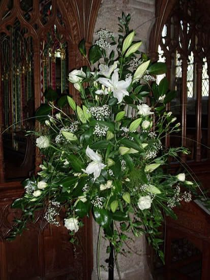 large flower arrangements for church | Wedding Planner Devon | Wedding Flowers Devon | Claire Louise | For ...