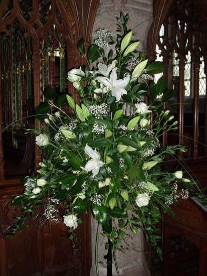 large flower arrangements for church   Wedding Planner Devon   Wedding Flowers Devon   Claire Louise   For ...
