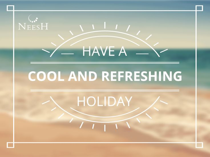 Are you holidaying too? Don't forget to carry your Neesh #SummerCompanion  #PortablePocketPerfume