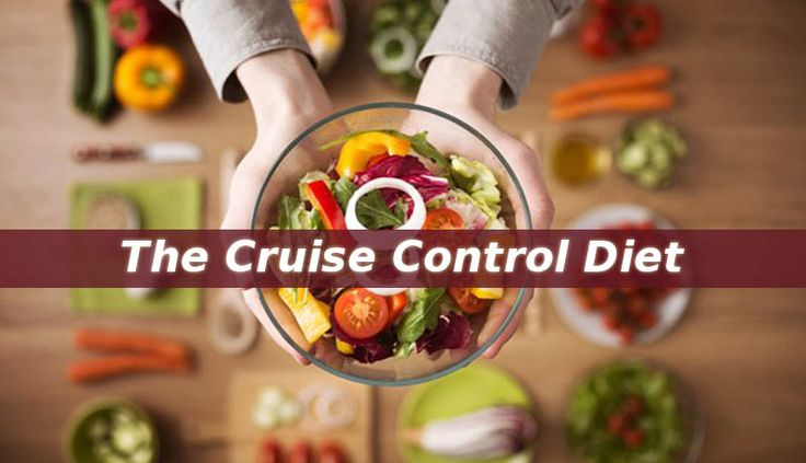 The Cruise Control Diet lets you make healthier lifestyle choices while promoting permanent fat loss. And it is one of the easiest weight loss programs.