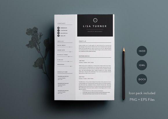 207 best design lovely resumes images on Pinterest Cv resume - resume template docx