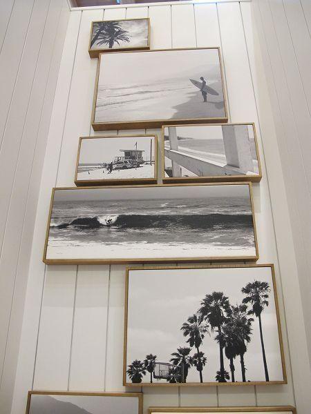 Holzrahmen & s/w Bilder