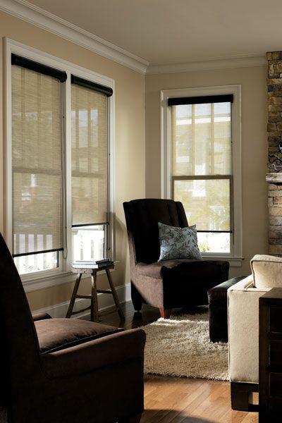 Sheer elegance of roller blinds