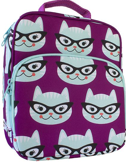 Such a cute lunch bag by Bentology. And it's BPA, PVC, lead and phthalate-free to boot.