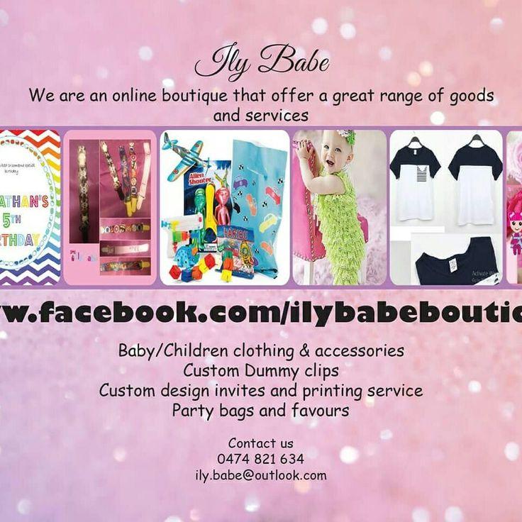 #baby #babyclothing #babyclothingonline #kidsfashion #party #birthdayparty #invitation #partybags #favours #kidsclothing #dummy #photoprops #birthday #kids #ilybabe