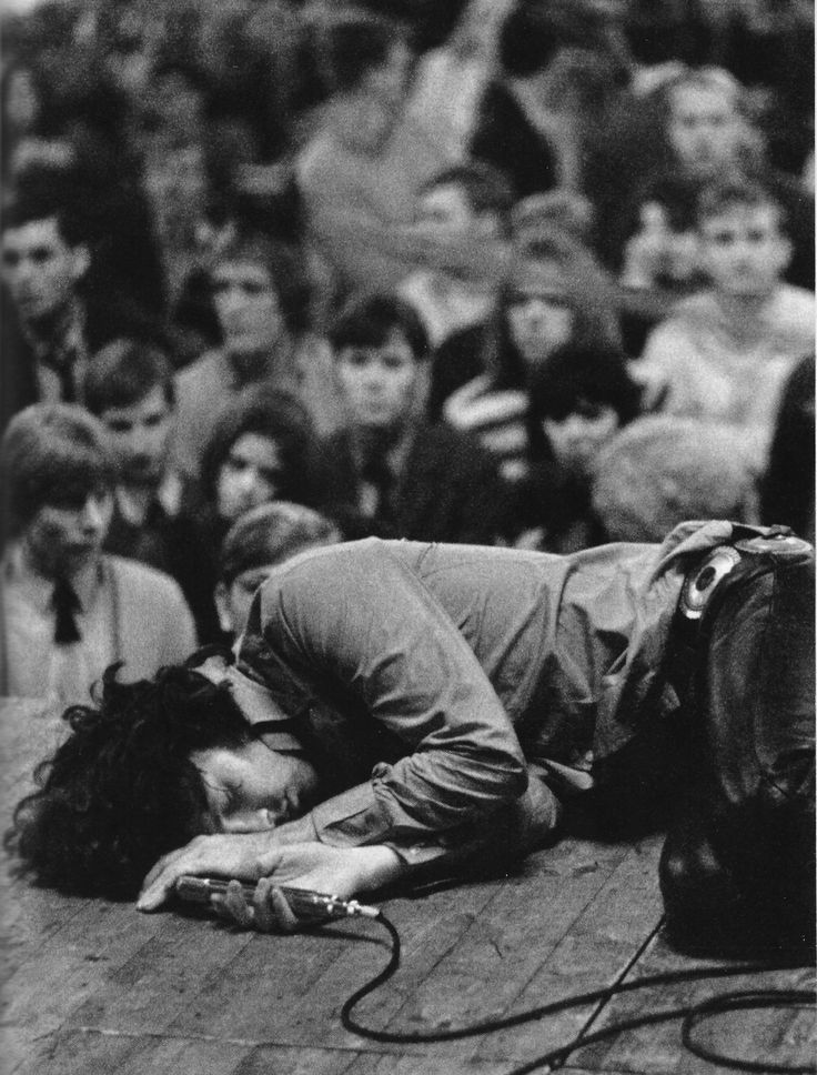 Jim Morrison | onstage | 27 club | sex | drugs | rock n roll | iconic | the rolling stone