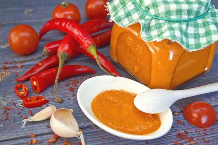 Острый соус «Чили с черри». Пошаговый рецепт с фото - Ботаничка.ru