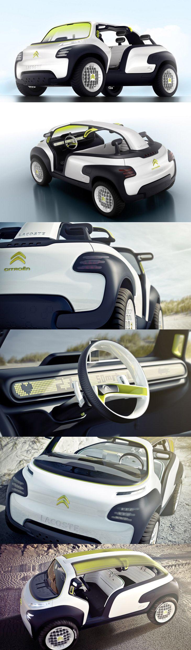 Citroën + Lacoste = funny future car! lol