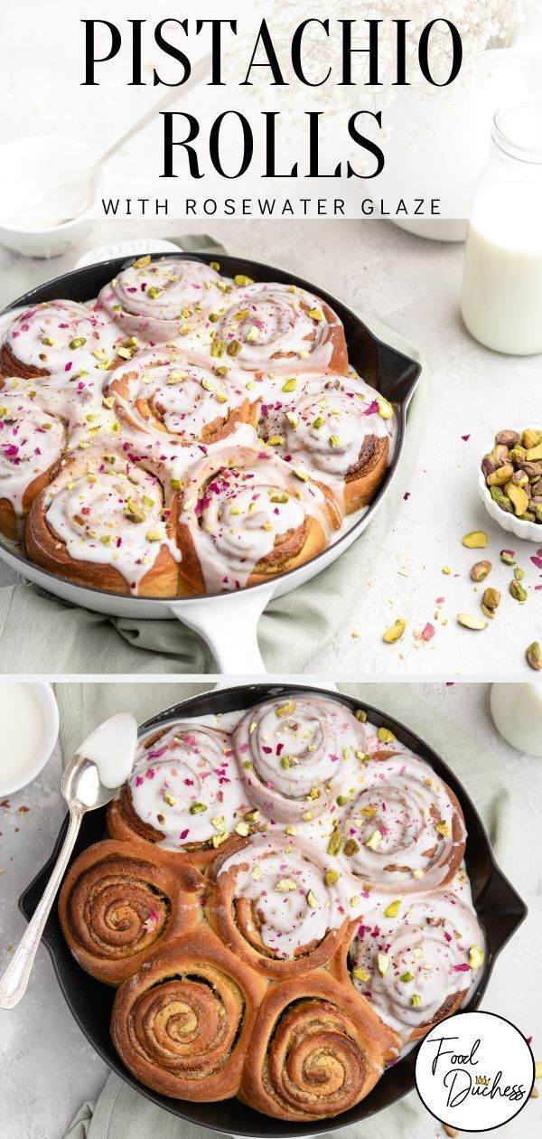 Jul 11, 2020 – A little bit less sweet than your classic cinnamon roll, these Cardamom Pistachio Rolls are creamy, butte…
