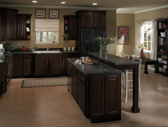 coffee color kitchen cabinets best 25 espresso cabinets ideas on espresso 13677