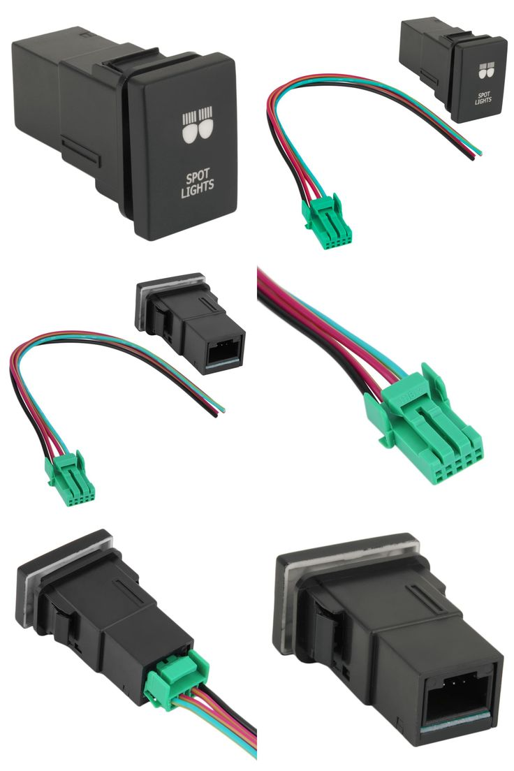 Fig 2 two way light switching 3 wire system new harmonised cable -  Visit To Buy Dc 12v Panel Mount Black Pilot Lamp 4 Wire Fog Light