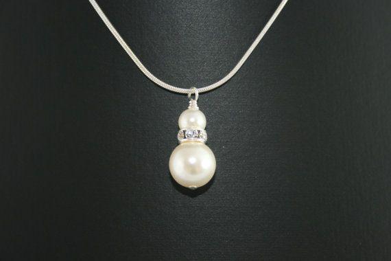 Handmade 'Claire' Swarovski Crystal Pearl by LHadyoonJewellery, £28.00