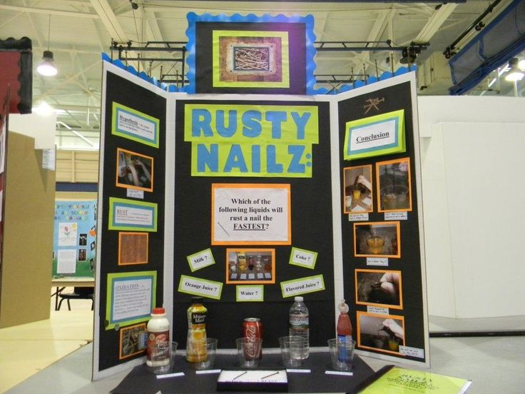 Rusty Nails: Which liquid will rust a nail fastest?
