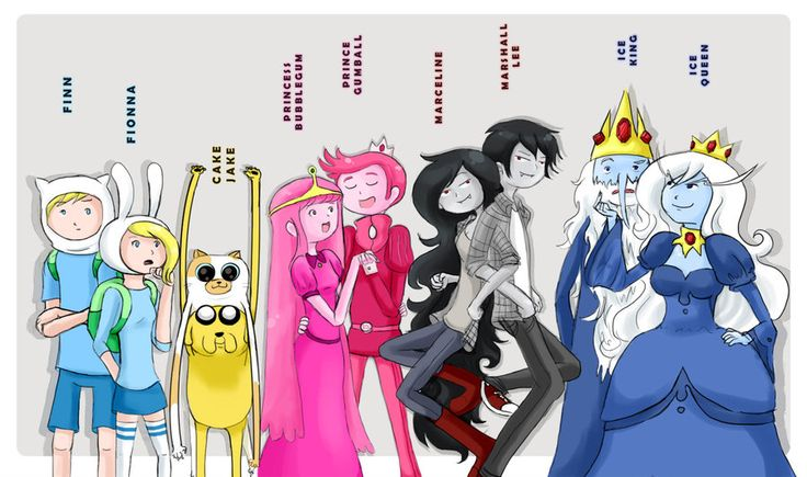 Adventure time couples - adventure-time-club Photo