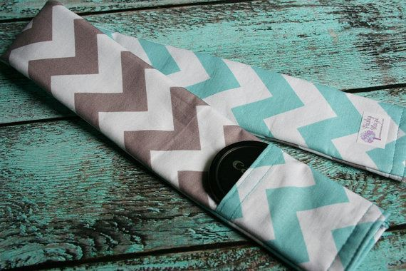 Reversible Camera Strap Cover with Lens Cap by PaisleyMaizie, $18.00