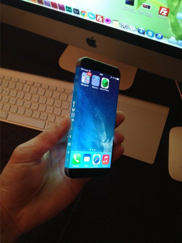 New iPhone 6 Concept Sports Appealing Three-Sided Display #technology