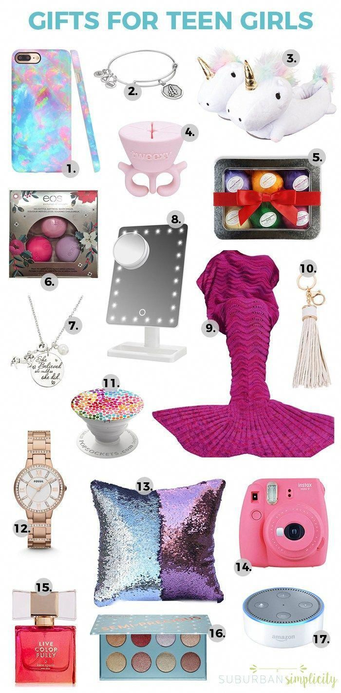 Gift ideas teen girl teens