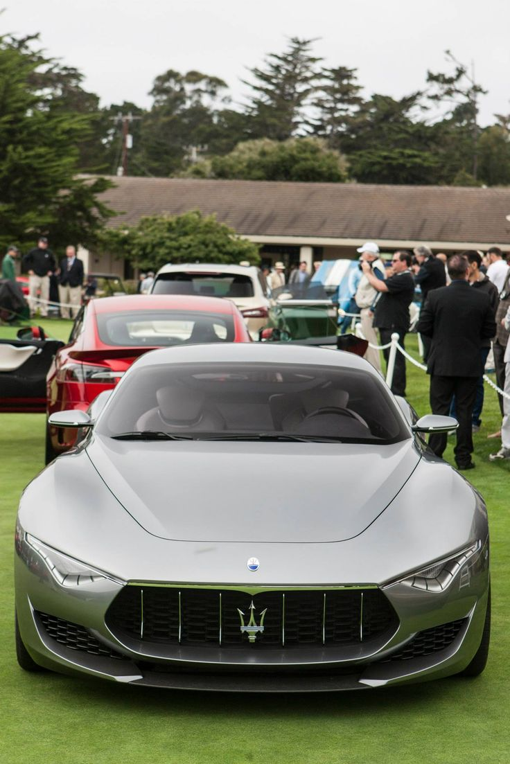 Maserati Alfieri.Luxury, amazing, fast, dream, beautiful,awesome, expensive, exclusive car. Coche negro lujoso, increible, rápido, guapo, fantástico, caro, exclusivo.