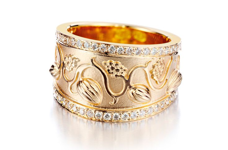 "Carina Blomqvist Design ~""Eden"" ring -Winner of 2013's Most Beautiful Ring, I Love Me Fair, Helsinki."