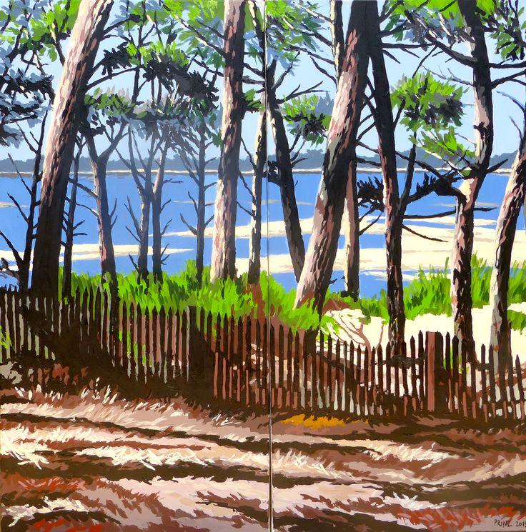 57 best images about arcachon peintures on pinterest - Les pins du moulleau ...